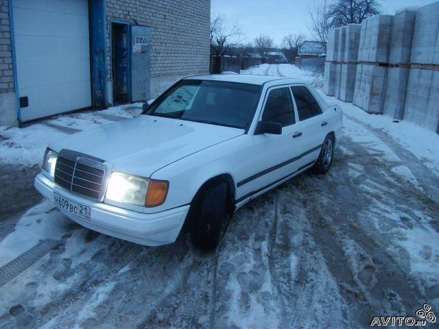 Фото - Mercedes W124, 1989